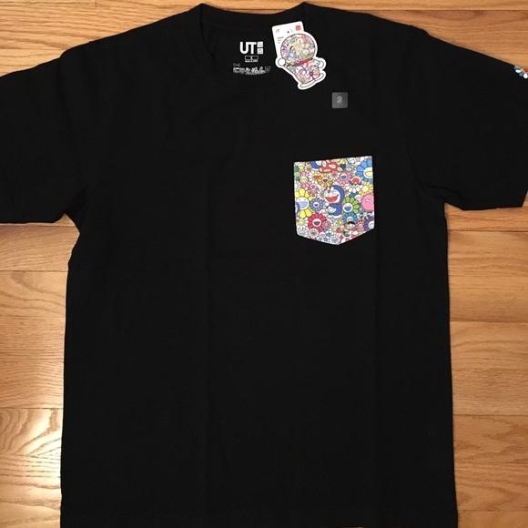 1a59326b Uniqlo Tops | Doraemon X Takashi Murakami Graphic Tshirt | Poshmark